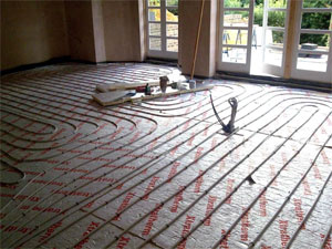 Under floor heating services in Brighton and Hove